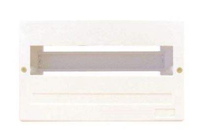 Picture of TRADESAVE Surface Mounted DIN Rail Enclosure, 12 pole, Moulded base