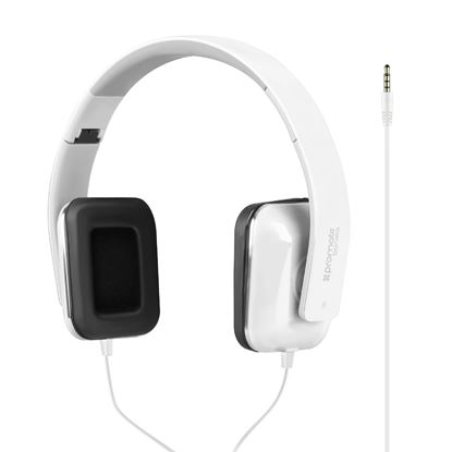 Picture of PROMATE Foldable Over-The-Ear Wired Stereo Headset. Passive Noise