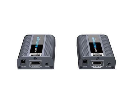Picture of LENKENG HDMI2.0 Extender over Cat6. Includes a Transmitter & Reciever.