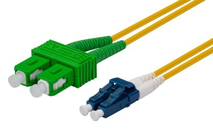 Picture of DYNAMIX 10M 9u SCAPC/LC Duplex mode OS2 G657A1 Bend Insensitive Fibre