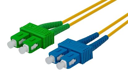 Picture of DYNAMIX 10M 9u SCAPC/SC Duplex mode OS2 G657A1 Bend Insensitive Fibre