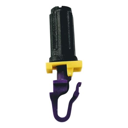 Picture of RACKSTUDS Series II 20-pack Purple Smart Rack Mounting System. In