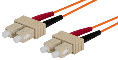 Picture of DYNAMIX 2M 62.5u SC/SC OM1 Fibre Lead (Duplex, Multimode)
