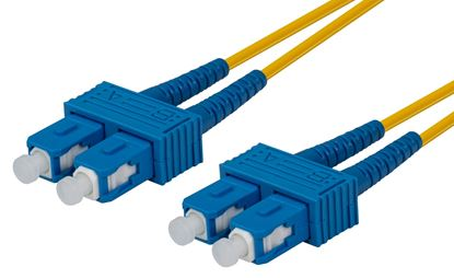 Picture of DYNAMIX 0.5M 9u SC/SC Duplex Single Mode G657A1 Bend Insensitive