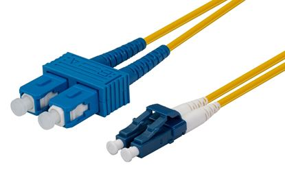 Picture of DYNAMIX 1M 9u LC/SC Duplex Single Mode G657A1 Bend Insensitive