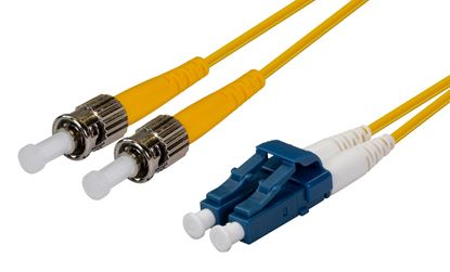 Picture of DYNAMIX 1M 9u LC/ST Duplex Single Mode G657A1 Bend Insensitive