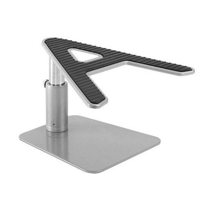 Picture of BRATECK Height Adjustable Laptop Desktop Stand. Stepless Height
