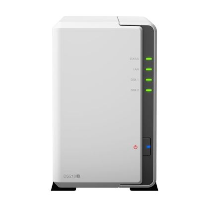 Picture of SYNOLOGY DS218j 2 bay Bare Bone NAS System for home users.