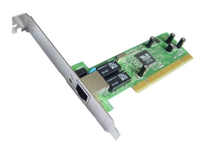 Picture of SMC 32-bit 10/100/1000Mbps Gigabit PCI Ethernet Adapter Card.