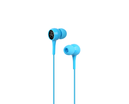 Picture of PROMATE 1.2m Lightweight Stereo Earbuds with Built-in Mic.