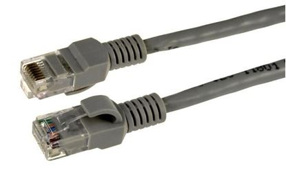 Picture of DYNAMIX 1m Cat5e Beige UTP Patch Lead (T568A Specification)