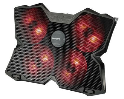 Picture of PROMATE Height Adjustable Ergonomic Gaming Laptop Cooling Pad with 5