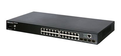 Picture of EDGECORE 24 Port Gigabit Managed L2+ Switch. 4x GE SFP Ports.