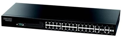 Picture of EDGECORE 28 Port Gigabit Managed L3 Switch.