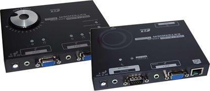 Picture of REXTRON Full HD VGA + Audio 200M Cat5e Extender. Includes: EXVA-220R