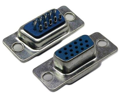 Picture of DYNAMIX Solder Connector VGA HD D15 Female