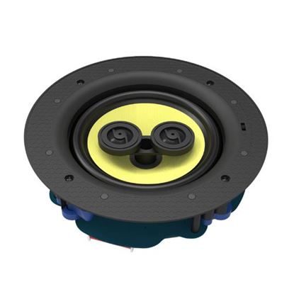 Picture of LUMI AUDIO 6.5' 3-Way Stereo Frameless Ceiling Speaker. RMS