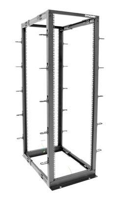Picture of DYNAMIX 22U 4 Post Depth Adjustable open Frame rack, Depth