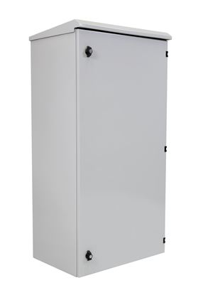 Picture of DYNAMIX 24RU Outdoor Wall Mount Cabinet. External Dims 611x425x1190