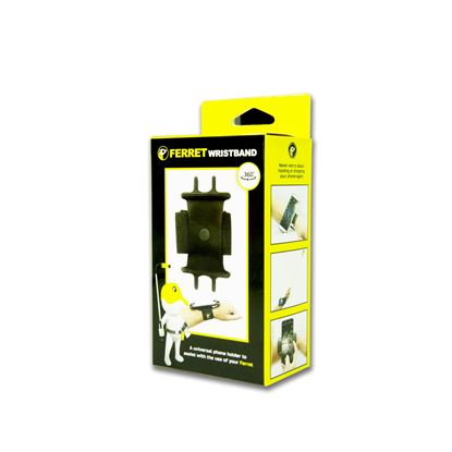 Picture of FERRET Wristband Universal Phone Holder to Assist with the use of