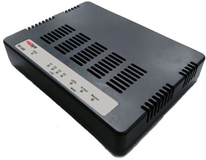 Picture of NETSYS G.Fast Slave Modem with 4 Gigabit Point to Point LAN Ports.