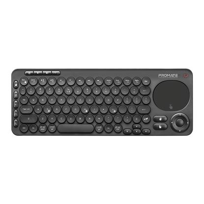 Picture of PROMATE Dual Mode Bluetooth + Wireless IR Multimedia Keyboard