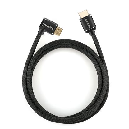 Picture of PROMATE 1.5m 4K HDMI cable. Right Angle, 4K Ultra HD.