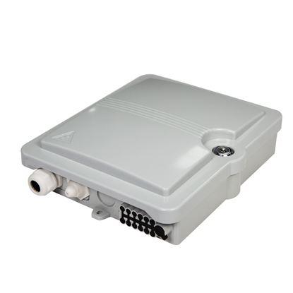 Picture of DYNAMIX Lockable Indoor/Outdoor Fibre Termination Box. 8x position