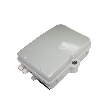 Picture of DYNAMIX Lockable Indoor/Outdoor Fibre Termination Box. 24x position