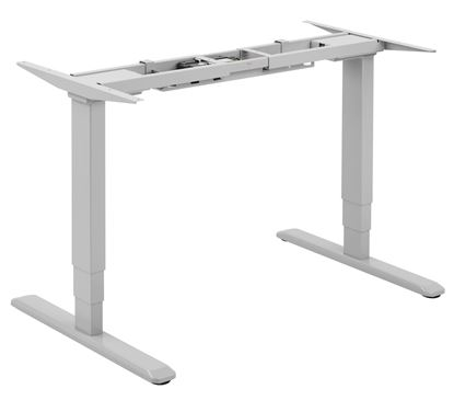 Picture of BRATECK Dual Motor Electric Sit-Stand Desk Frame with 3-Stage