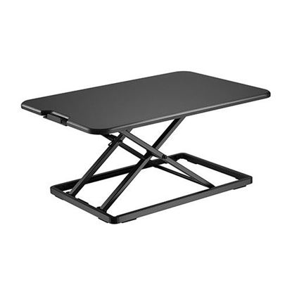 Picture of BRATECK Ultra-Slim Desktop Sit-Stand Workstation.