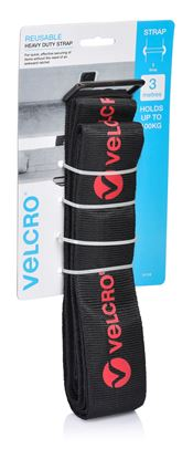 Picture of VELCRO Heavy Duty 3m x 50mm Tie Down Strap. Secure & Hold up to