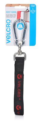 Picture of VELCRO Easy Hang 630mm Strap with Hook. Store and Hold up to 80Kgs.