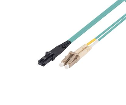 Picture of DYNAMIX 5M 50u LC/MT-RJ OM3 Fibre Lead (Duplex, Multimode)