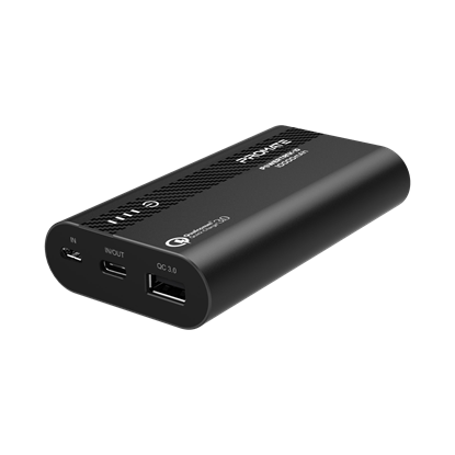 Picture of PROMATE 10000mAh Lithium-ion Quick Charge Power Bank with USB-C and