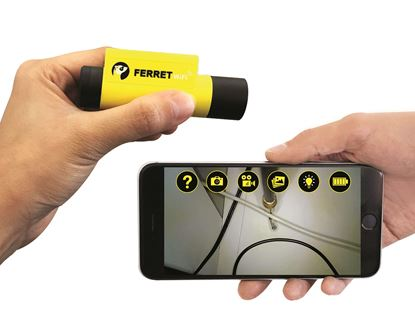 Picture of FERRET WIFI Multipurpose Wireless Inspection Camera & Cable Pulling