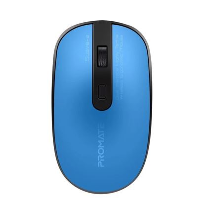 Picture of PROMATE Wireless Ergonomic Mouse. Includes Both USB-C & USB-A Nano