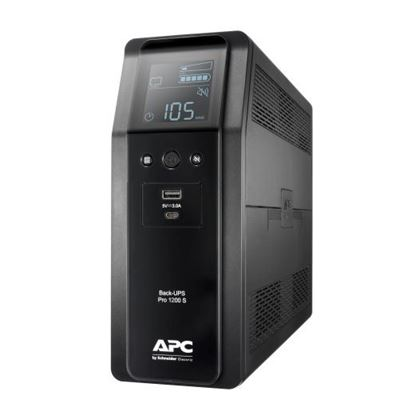 Picture of APC Back-UPS PRO Line Interactive 1200VA (720W) with AVR, 230V