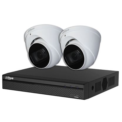 Picture of DAHUA 4 Channel IP Surveillance Kit .Includes 4 Port 4K PoE NVR with