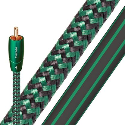 Picture of AUDIOQUEST Chicago  1.5M 2 to 2 RCA . Solid Long Grain Copper