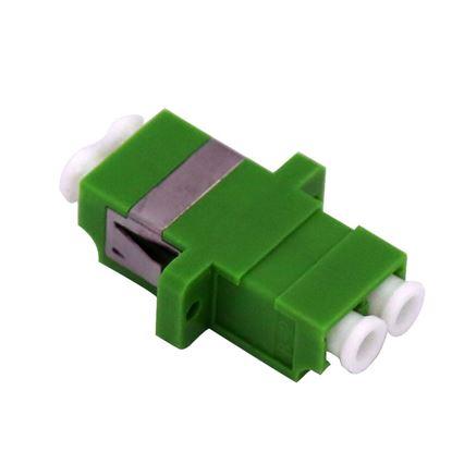 Picture of DYNAMIX Fibre LC-APC to LC-APC Duplex, Single-mode Joiner,
