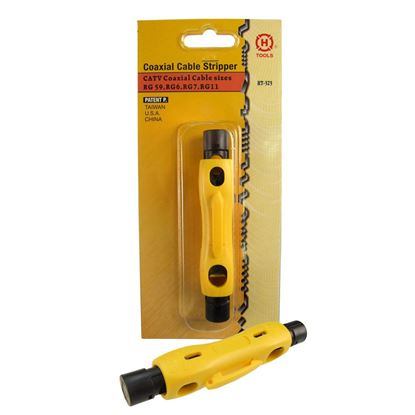 Picture of HANLONG 2x blade Coaxial Cable Stripper RG59/62/6/11/7/213/8