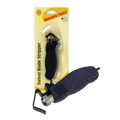 Picture of HANLONG Swivel Blade Cable Stripper , Metal - Cuts up to 25mm OD:.