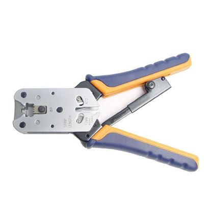 Picture of HANLONG RJ45 8 Position Modular Crimping Tool. Professional Series.