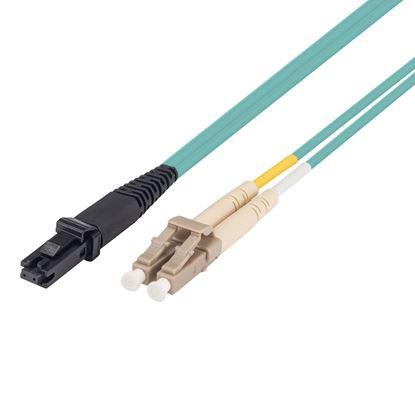 Picture of DYNAMIX 1M 50u LC/MT-RJ OM3 Fibre Lead (Duplex, Multimode)