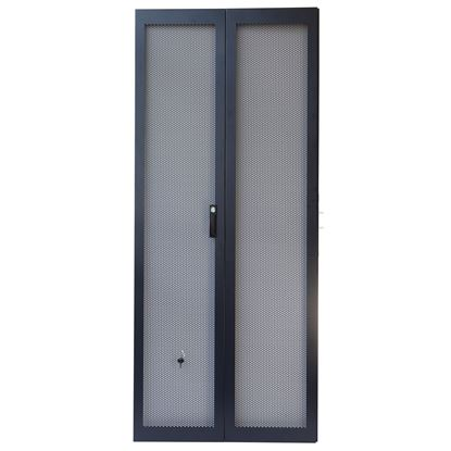 Picture of DYNAMIX 45RU Dual Mesh 800mm Pantry Style Door Kit for SR Series