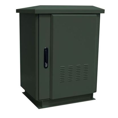 Picture of DYNAMIX 27RU Outdoor Freestanding Cabinet. (800 x 600 x 1575mm