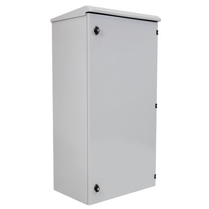 Picture of DYNAMIX 24RU Outdoor Wall Mount Cabinet. External Dims 611x625x1190