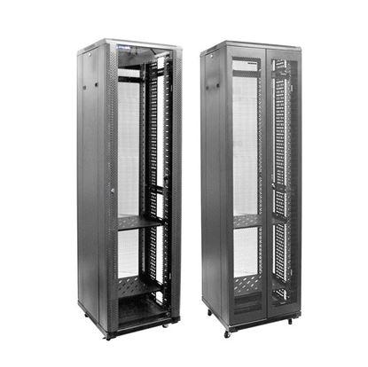 Picture of DYNAMIX 42RU Server Cabinet 600mm Deep Front Glass Door, Rear Mesh