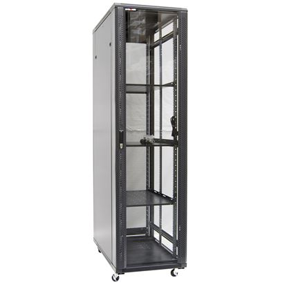 Picture of DYNAMIX 45RU Server Cabinet 1000mm Deep (600x1000x2210mm) FLAT PACK